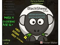 EVERYONE WELCOME BlackSheepSongz! First Session FREE What have you got to loose?