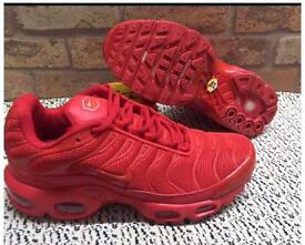 Red Nike Trainers Brand New