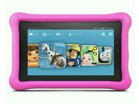 CHEAP Amazon Fire 7 Inch 16GB Kids Edition Tablet - Pink.