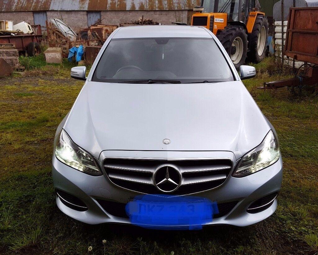 Mercedes-Benz E220 SE CDI Saloon