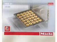 Miele HBB 61 original oven baking tray PerfectClean (light grey)