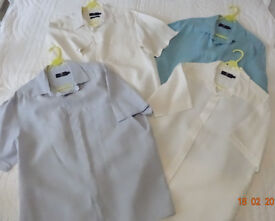 Mens Blue Harbour Pure linen Shirts (Large) from M & S