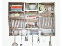 Plate Rack Huge Stainless Steel 30X42 Inch