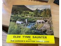 Old Tyme Saunter With Rob Gordon's Scottish Dance Band 1973 vinyl