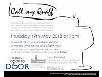 Call My Quaff wine tasting for Norwich Door to Door