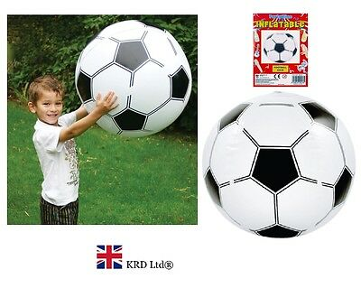 Blow Up Fancy Dress Sports Soccer Boys Beach Ball Party 40cm (Blow Up Soccer Ball)