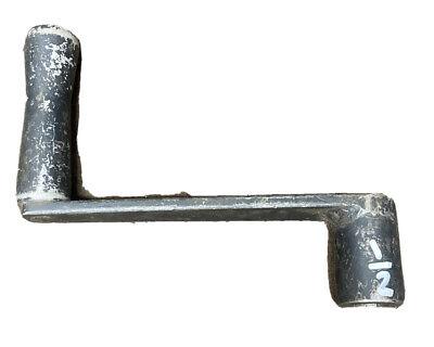 12 Square Vise Rotating Handle Machine Crank Metal Lathe Milling Machine Shaper