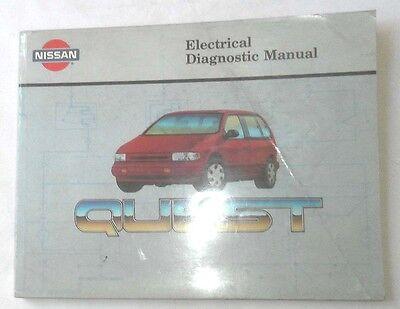 1993 Nissan Quest Electrical Diagnostic Service Manual