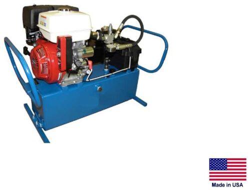 HYDRAULIC POWER UNIT Industrial - 5 Hp Honda Engine - 11 GPM - 2,500 PSI 2 Stage