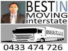 BESTIN MOVING Interstate Removals & Backloads Australia Wide Brisbane Region Preview