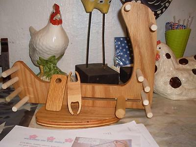 Very Nice Lightweight Compact Tote-A-Long Inkle Loom /Tools/Instructions