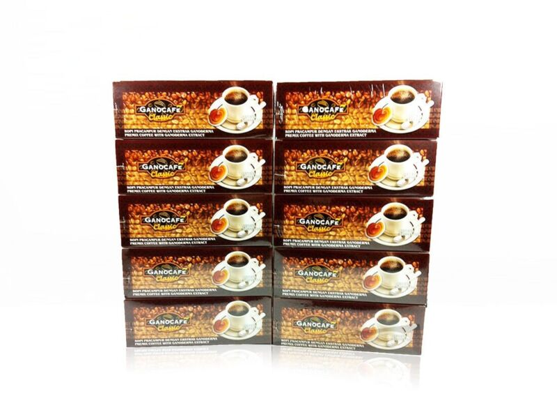 10 Box Gano Excel Gano Cafe Classic Coffee Ganoderma 30 Sachets EXPRESS