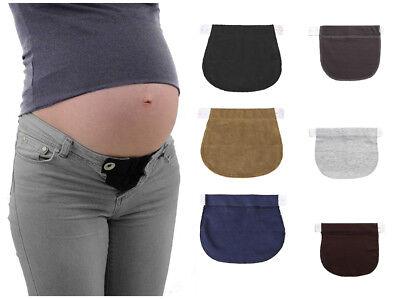 1Pc Pregnancy Waist Extender Cotton Pants Pregnancy Waistband Belt Adjustable