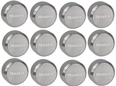 Master Lock 6271ka Hidden Shackle Lot Of 12 Keyed Alike Reinforced Puck Locks