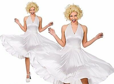 Adult HOLLYWOOD STARLET Blonde Sexy Film Star Fancy Dress Ladies Costume - Hollywood Star Fancy Dress Kostüm