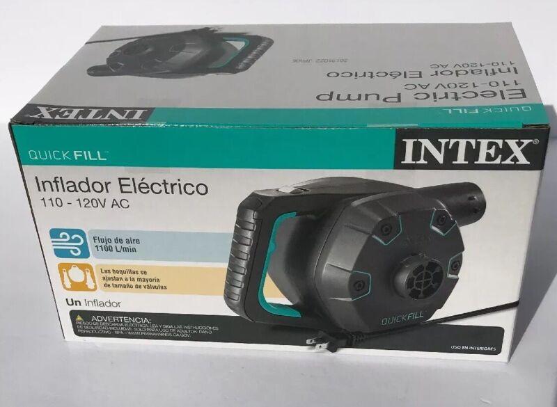 Intex 120-Volt Quick-Fill AC Corded Electric Air Pump New in Box!