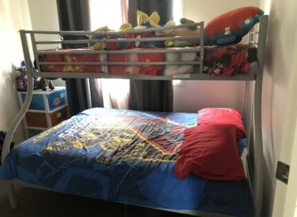 Emma White Single On Double Solid Timber Bunk Bed Beds Gumtree