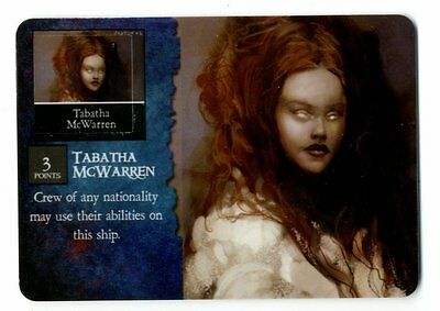 Pirates Of Davy Jones' Curse, CURSED CREW, TABATHA MCWARREN, #028