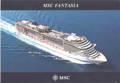 Postcard: Italy - MSC Fantasia comprar usado  Enviando para Brazil