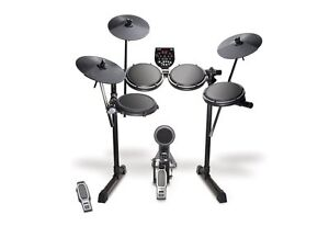 NEW Alesis DM6 USB Kit Performance 5 Piece Electronic Drum Set w/ Drum Module