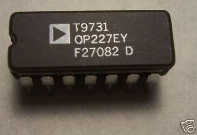 Analog Devices Op227ey Op227
