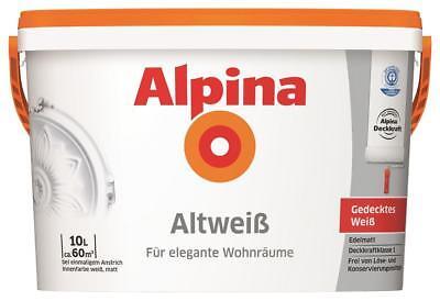 alpina altweiss test vergleich alpina altweiss g nstig kaufen. Black Bedroom Furniture Sets. Home Design Ideas