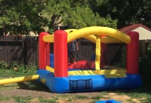 Little tykes bouncer with slide