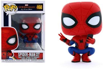 SPIDER-MAN - HERO SUIT - FUNKO POP BRAND NEW - MOVIE 39403