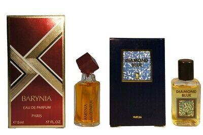 Diamond Blue Hala  Helena Rubinstein Barynia Perfume Travel Women Mini Miniature
