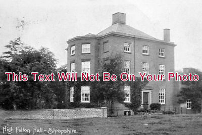 SH 225 - High Hatton Hall, Shropshire - 6x4 Photo