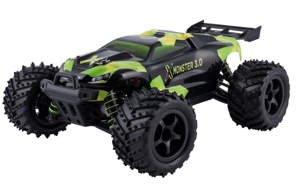 B-Ware 1:18 X-Monster Truck RC Auto Car 45 km/h Allrad Buggy ferngesteuert 100m