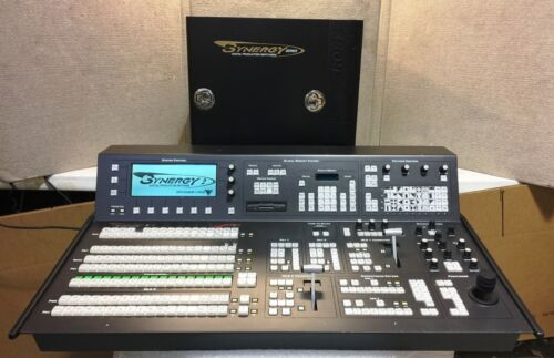Ross Synergy 2 Digital Video Production Switch Board, Frame & Control Panel