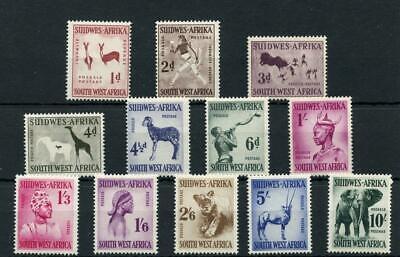 South West Africa 1954 set SG154/65 MM