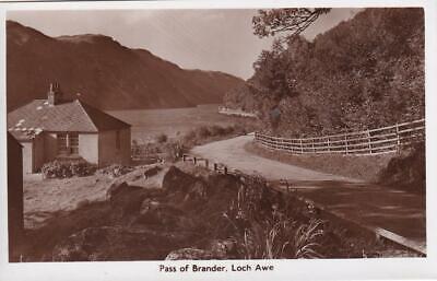 PASS OF BRANDER  - LOCH AWE  -  ARGYLL  ( Rn38 )