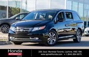 2016 Honda Odyssey Touring BAS KM 8 PASSENGER LEATHER ROOF DVD N