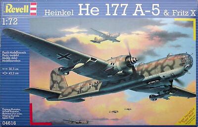1/72 Revell Heinkel He 177A-5 Fritz X No. 04616