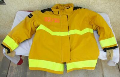 Lion Janesville Firefighter Fireman Turnout Gear Jacket Size 52.32.r - D L1