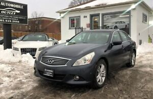 2011 Infiniti G37X  Sport AWD BACK-UP CAM SUNROOF NO ACCIDENT