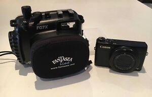 Canon G7X and Fantasea underwater dive housing Perth Perth City Area Preview