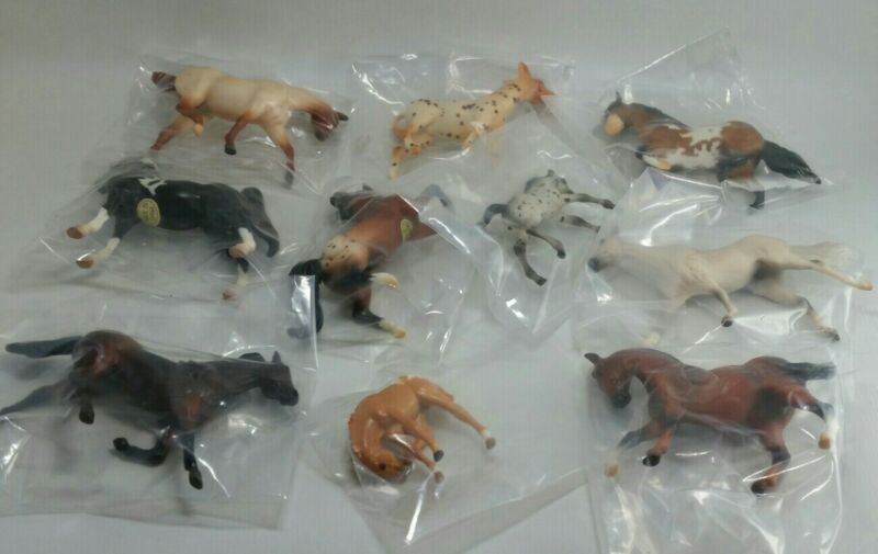 Breyer Stablemate 2005 Parade Of Breeds 10 pc Set JCPENNEY Special Run NIP!