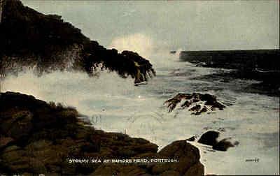 Portrush Irland Ireland Éire ~1910/20 Ramore Head Stormy Sea Meer Ozean Wellen