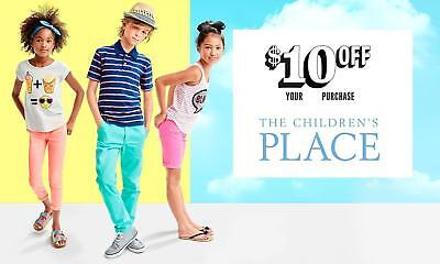 TWO 2 Children's Place 10$ Off 40$ Coupon Code 3/25/20