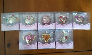 Lot of every Sailor Moon Transformation Compact Miniaturely Tablet + Sailor V