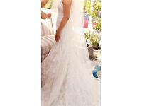 Justin Alexander Wedding Dress size 6-8