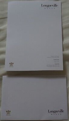 LONGUEVILLE MANOR LUXURY 5 STAR HOTEL JERSEY V RARE ENVELOPE & WRITING PAPER *