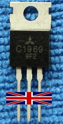 2SC1969 C1969 TO-220 Transistor from Mitsubishi