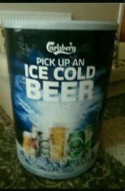 Calsberg beer cooler