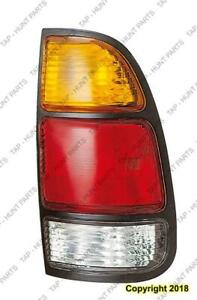 Tail Light Passenger Side Std Bed Reg/Access Cab Yellowith Red White High Quality Toyota Tundra 2000-2006