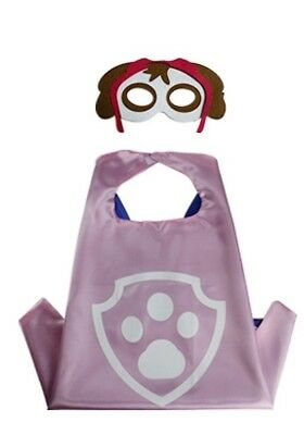 One Set Brand New PAW PATROL Skye Superhero  Cape And Mask Set](Paw Patrol Masks)