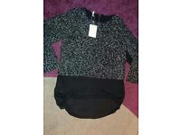 Sweater /blouse, brand new, size 8-10